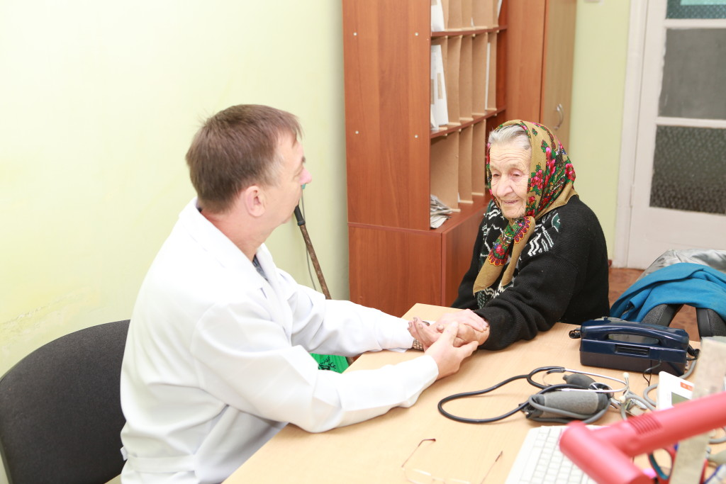 What a blessing to be able to help elderly people access the medical care they need.